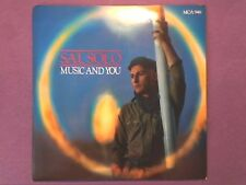 """Sal Solo - Music And You (7"""" single) picture sleeve MCA 946"""