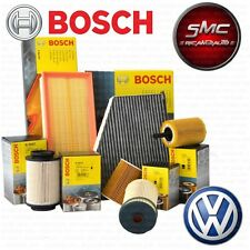 Kit tagliando 4 FILTRI BOSCH VW GOLF 5 V 1.9 TDI 77 KW 105 CV BLS