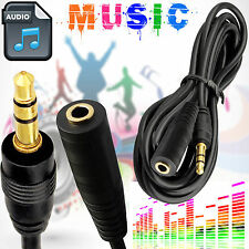 Male to Female 5M 3.5mm AUX Stereo Audio Cable iPod MP4 Headphone Extension Cord