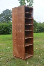 More details for pine antique / vintage art deco filing / pigeon hole cabinet / bookcase