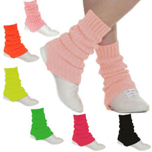 Roch Valley Thick Stirrup Leg Warmers Legwarmers Ballet Dance Warm Up Ribbed