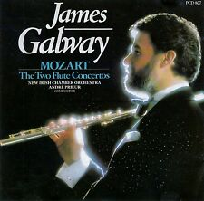 JAMES GALWAY : MOZART - THE TWO FLUTE CONCERTOS / CD