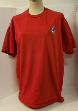 Vintage Grateful Dead Embroidered T-Shirt Balzout 1992 Red~Missing 2nd Tag Xl?