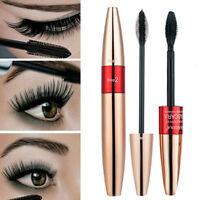 2-in-1 4D Silk Fibre Mascara Eyelash Waterproof Extension Make Up Long Lasting