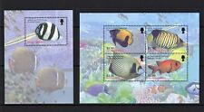 UK MONTSERRAT 2016 FISH FISCH POISSON MARINA WATER LIFE FAUNA ERII STAMPS MNH**