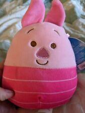 "Squishmallow 5"" Winnie the Pooh Piglet Pig Soft Pink Plush BNWT"