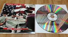 "KISS "" Kiss My A** "" LASERDISC ** The Video ** USA 1994'"