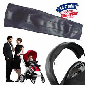 Baby Cover Stroller Handle Bar Accessories Pram AU PU Leather