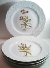 SET of 4 Embossed Dansk Ivy France Floral Luncheon Plates : dansk dinnerware vintage - pezcame.com