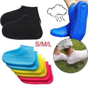 Silicone Overshoes Rain Waterproof Shoes Covers Boot Cover Protector Recyclable