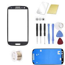 Samsung Galaxy S3 i9300 i9305 LTE Schwarz Glas Glass Scheibe Front TOUCHSCREEN