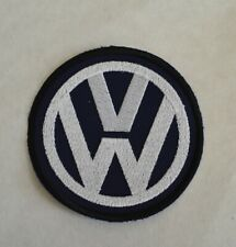 patch VW , 9cm, navy , broder et thermocollant
