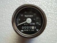 80//60 // Super Dexta Fordson Dexta Tachometer Temperaturanzeige Diesel
