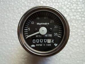 Clockwise 60mm Speedometer Fits Mahindra Tractor 475, 485, 575,C4005,4505