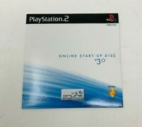 Online Start-Up Disc v 3.0 - Sony PS2 PlayStation 2 - Brand NEW Sealed Rare HTF