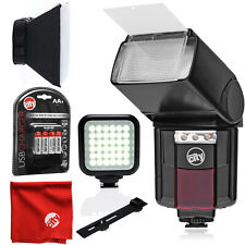 Circuit City Automatic Universal Flash with Video Light for Nikon & Accessories