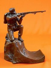 German Germany Austrian Austria Ww1 Bronze Soldier Figurine Statue Sculpture