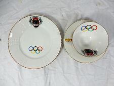 Seltene originale Porzellan Sammeltasse XI. Olympische Spiele Berlin 1936 Gedeck