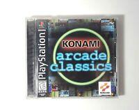 Konami Arcade Classics (Sony PlayStation 1, 1999)