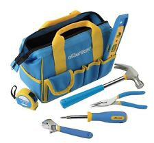 GreatNeck 21045 Essentials 7 Piece Around the House Tool Kit w Bag