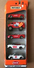 1999 Coca Cola Matchbox 5 Pack Diecast Vehicles Mustang VW Beetle
