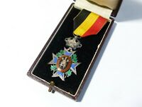 Decoration for Mutuality 2nd Class Belgium Industry & Agriculture Medal Cased