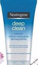 Neutrogena Limpieza Profunda VIVIFIANT Limpiador Crema Removedor de maquillaje [