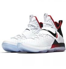 Nike Lebron 14 Flip The Switch White Red GS Grade School Size 4.5Y 859468 103
