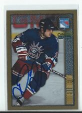 Darren Langdon Signed 1998/99 O-Pee-Chee Chrome Card #172