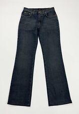 Trussardi jeans donna usato flare bootcut W32 tg 46 zampa mom boyfriend T4974