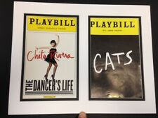 Picture Framing Mat 11x14 for Two Playbill White with black liner