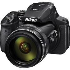 Nikon COOLPIX P900 16.0MP Digital Camera - Black With 64gb Extreme SD Card