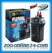 Fluval 206 Aquarium-Außen-Filter bis 200 Liter; A-207: (vorher 204-205)