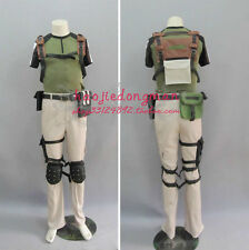 """Resident Evil 5""""Chris Redfield  cosplay costume anime any size"""