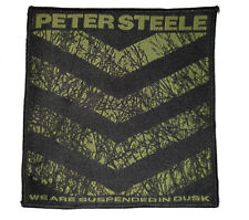 TYPE O NEGATIVE - Peter Steele Patch Aufnäher We are suspended in dusk 10x10cm