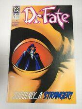 DC DR. FATE #19 (1990) Two-Face, Phantom Stranger, J.M. DeMatteis, Shawn McManus