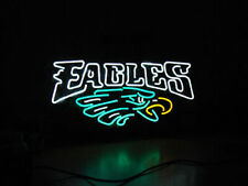 "Philadelphia Eagles Neon Lamp Sign 20""x16"" Bar Light Beer Glass Windows Display"