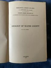 Geological Survey of Ohio Fourth Series Bulletin 24: Wayne County. 1921. w/ Map