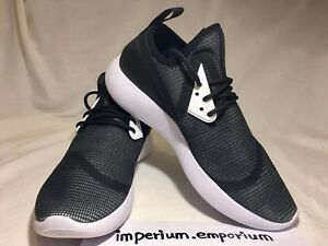 Men's Nike Lunarcharge BR Sneakers Trainers Shoes Black/White Size UK 7.5