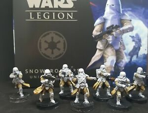 star wars legion snow troopers Expansion pro painted made to order