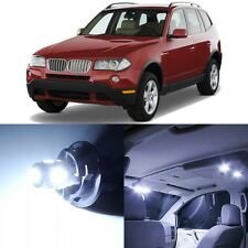 17 x Canbus Xenon White Interior LED Lights Package For 2004- 2010 BMW X3 +TOOL