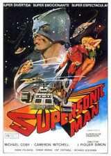 Supersonic Cartel de hombre 01 A2 Caja Lona Impresión