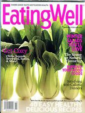 Eating Well Magazine January/February 2016 Winter Salads EX 031716jhe