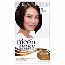 Clairol Nice'n Easy Hair Colour Dye Natural Darkest Brown - 3.5 Former 121A