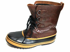 Sorel 1964 PAC Mens Waterproof Boots N/M 1439-201 Brown Size 9 USA.