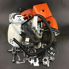 Complete Parts For Stihl MS440 044 Chainsaw Crankcase Cylinder Rear Handle Bar