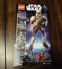 LEGO Star Wars Scarif Stormtrooper Buildable Figure 75523 Construction New n Box