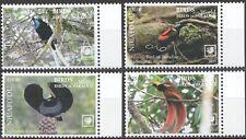 Niuafo'ou 2019 birds of paradise set MNH michel 743-46 78 euro