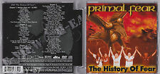 PRIMAL FEAR: THE HISTORY OF FEAR CD + DVD LIKE NEW