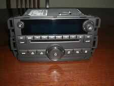 07-11 GM CHEVY SILVERADO SIERRA TAHOE DENALI 6 DISC CD COMBO AMFM RADIO 25864960